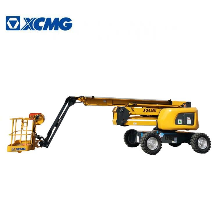 XCMG official 20m aerial work platform XGA20K mobile hydraulic new articulated boom lift price