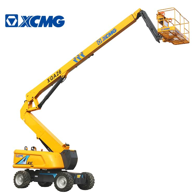 XCMG official manufacturer 26m hydraulic aerial work platform XGA26 articulated boom lift price