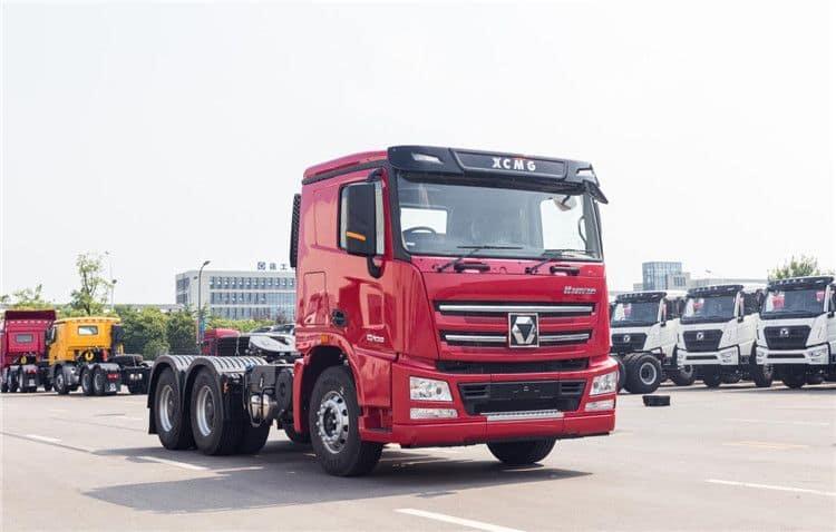XCMG 37 Ton Tractor Head Truck Trailer 6*2 Heavy Duty Truck 375hp NXG4250D3WB For Sale