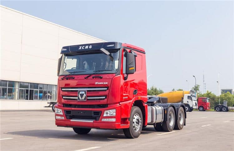 XCMG 375 HP China Heavy Tractor Truck 6*2 37 Ton Trailer Trucks NXG4250D3WB For Africa Prices