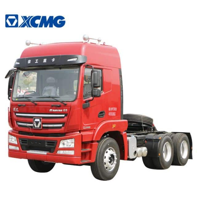 XCMG Truck Tractor Head 6*4 Tractor Trucks Carrier 430hp 80 Ton XGA4250D3WC For Sale