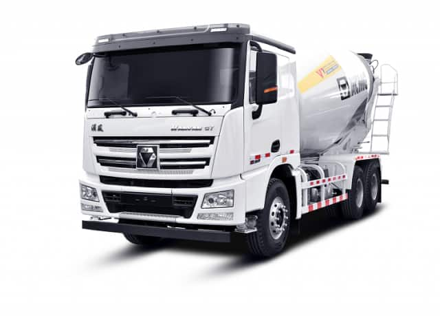 XCMG Official Concrete Truck Mixer XGA5250GJBW3 375HP Self Loading Concrete Mixer Truck For Sale