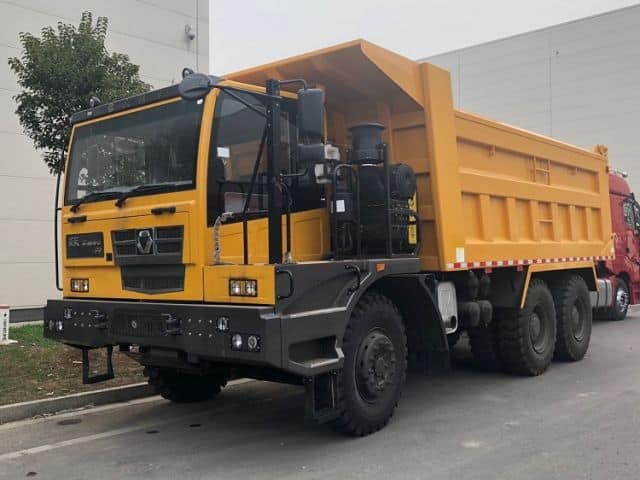 XCMG Official Dumper Truck 65 Ton XGA5652DT New 6 Wheels Dumper Trucks For Sale