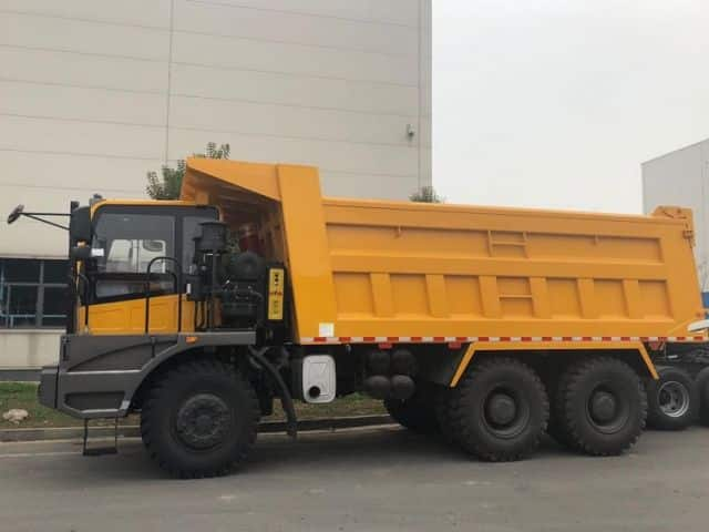 XCMG China New Dump Trucks 65 ton 6 Wheels XGA5652DT Dump Truck Tipper For Sale