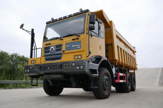 XCMG Official Tipper Truck Dumper Off Road XGA5902D3T New 466HP Dumper Trucks For Sale