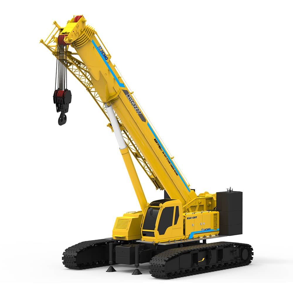 XCMG Official XGC120T Crawler Crane for sale