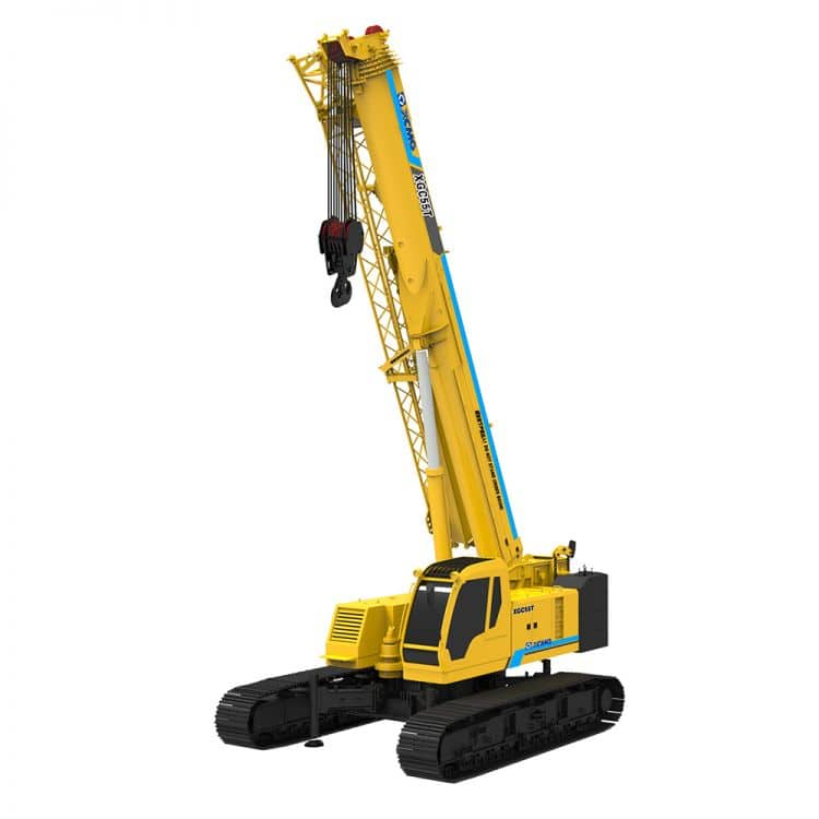 XCMG Official Manufacturer XGC55T Crawler Crane for sale