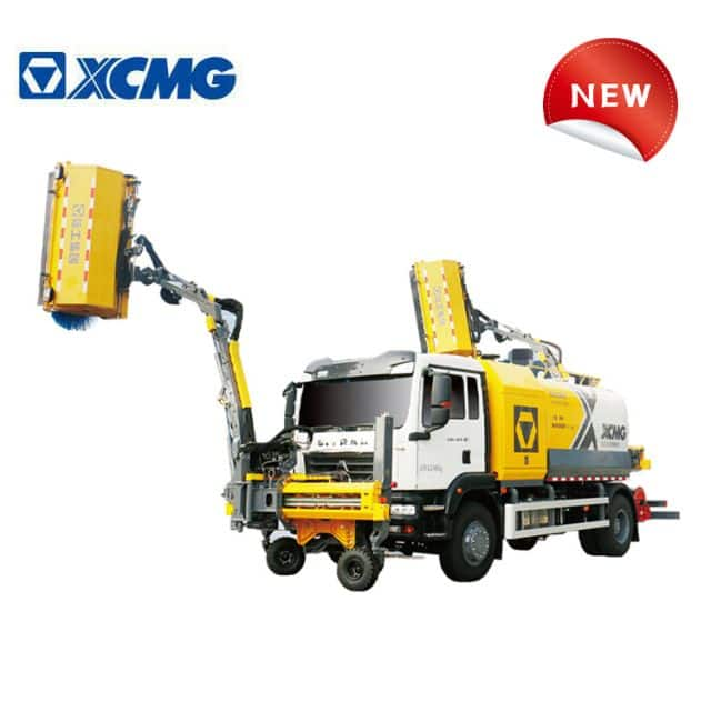 XCMG 4*2 truck cleaning machine XGH5180TXQZ6 China new cleaning trucks for tunnel and wall