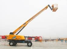XCMG official XGS34 34m hydraulic manlift telescopic boom platform price