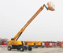 XCMG XGS34 34m mobile telescopic towable boom lift hydraulic price
