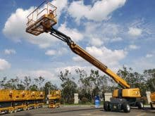 XCMG official 34m sky telescopic boom platform lift XGS34 price