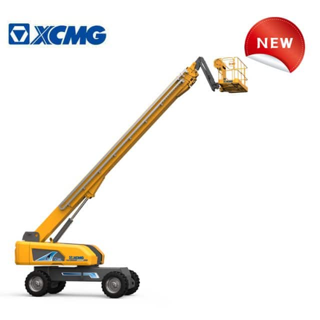 XCMG boom lift XGS40K China new 40m telescopic mobile hydraulic electric boom lift