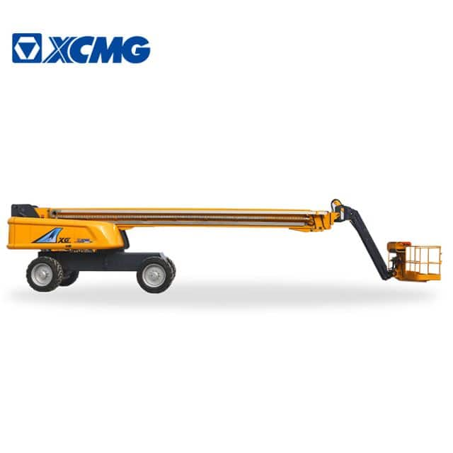 XCMG official 43m self-propelled telescopic boom lift equipment XGS43 with price for sale