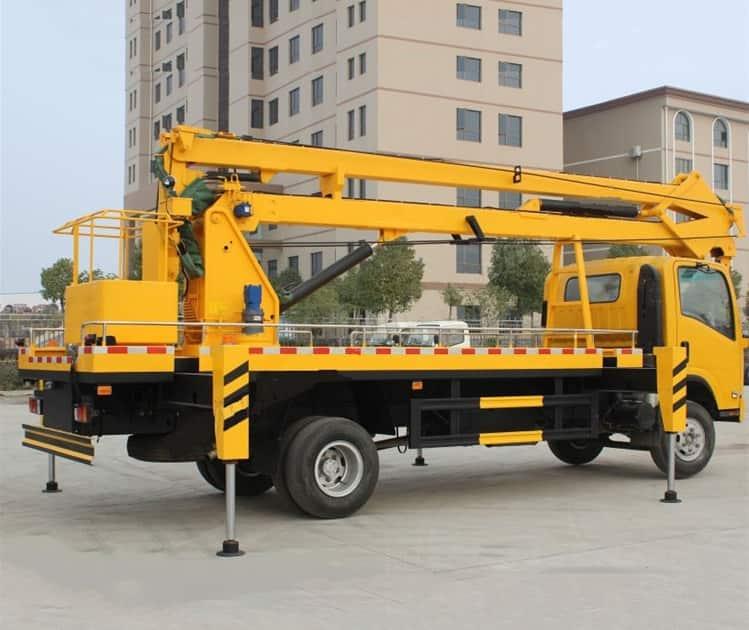 XCMG new 18m hydraulic platform lift truck XGS5068JGKQ6 man lift platform truck for sale