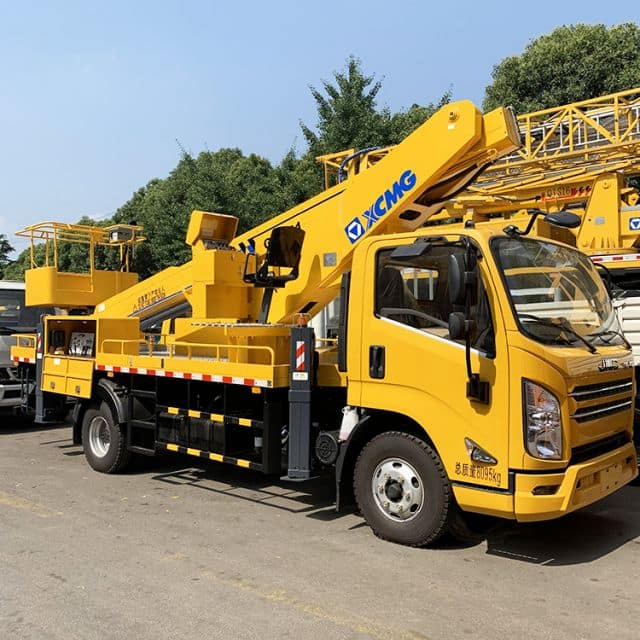 XCMG 17m bucket truck telescopic aerial working platform XGS5041JGKJ6 price