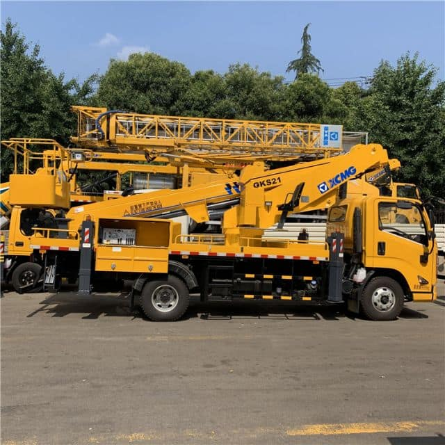 XCMG 16m truck mounted aerial work bucket truck XGS5062JGKJ6 for sale