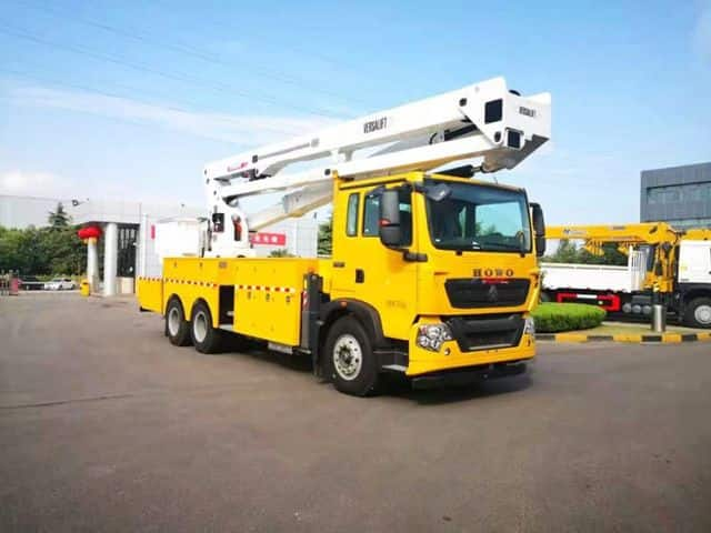 XCMG official 17m truck mounted knuckle boom aerial work platform truck XGS5063JGKQ6 price