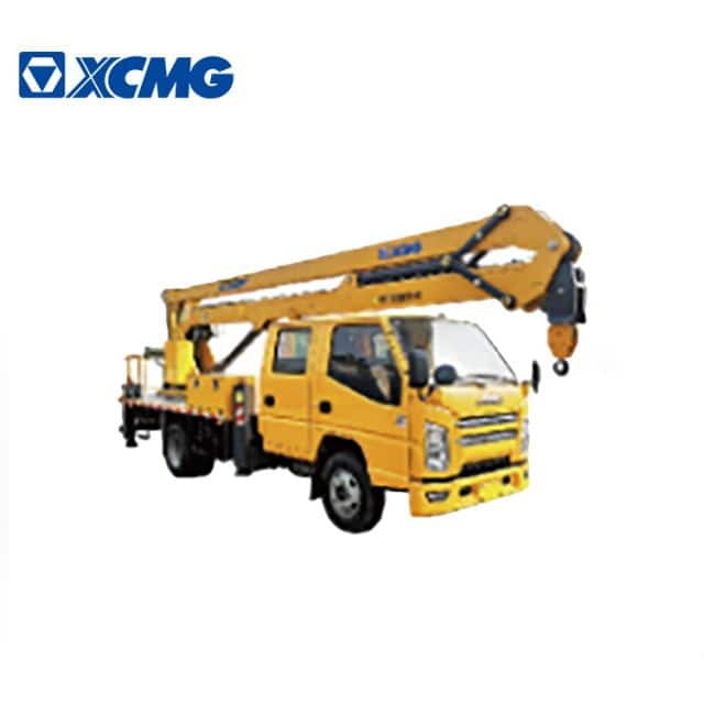 XCMG new 18m height lift platform truck XGS5068JGKJ6 Chinese durable folding boom lift truck price