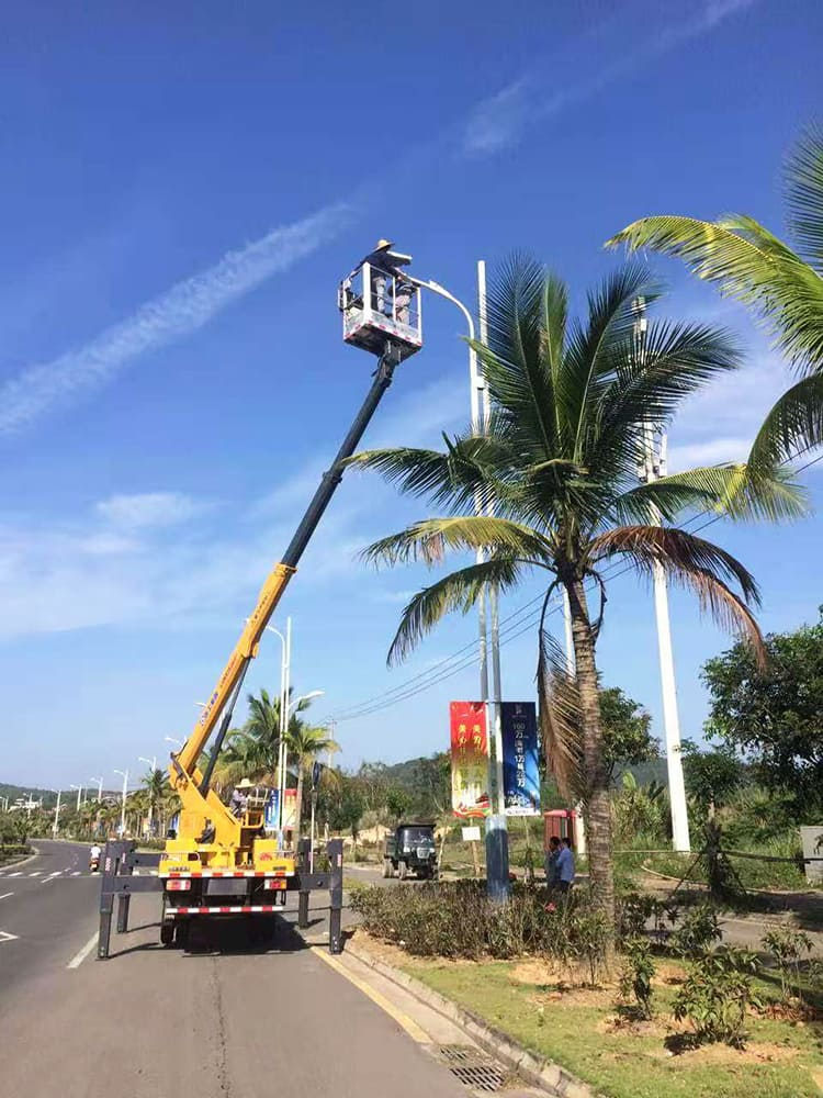 XCMG XGS5068JGKQ6 18m hydraulic truck mounted aerial platform truck for sale
