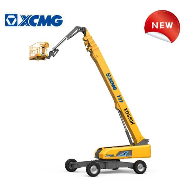 XCMG new telescopic boom lift XGS50K China 50m mobile hydraulic electric telescopic boom lift