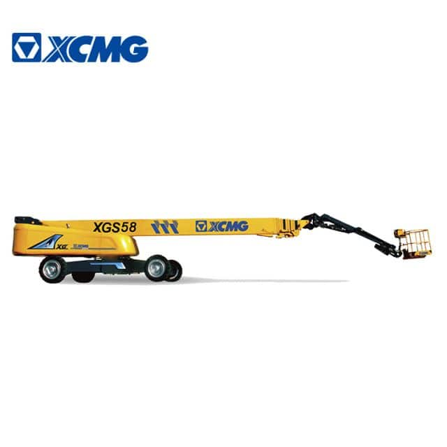 XCMG official 58m China mobile self-propelled telescopic boom lift equipment XGS58 price for sale