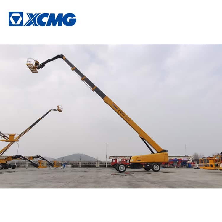 XCMG XGS58 58m self propelled telescopic boom elevated lift