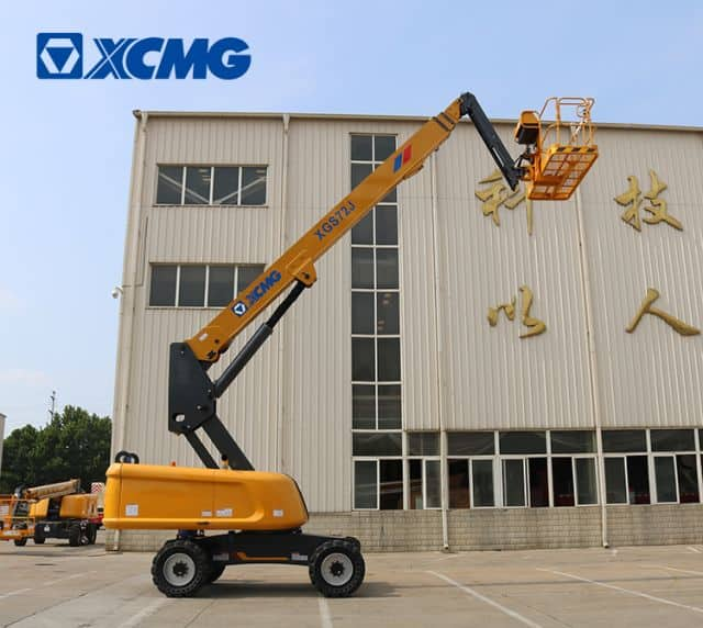XCMG 24m telescopic boom elevated platform lift XGS72J