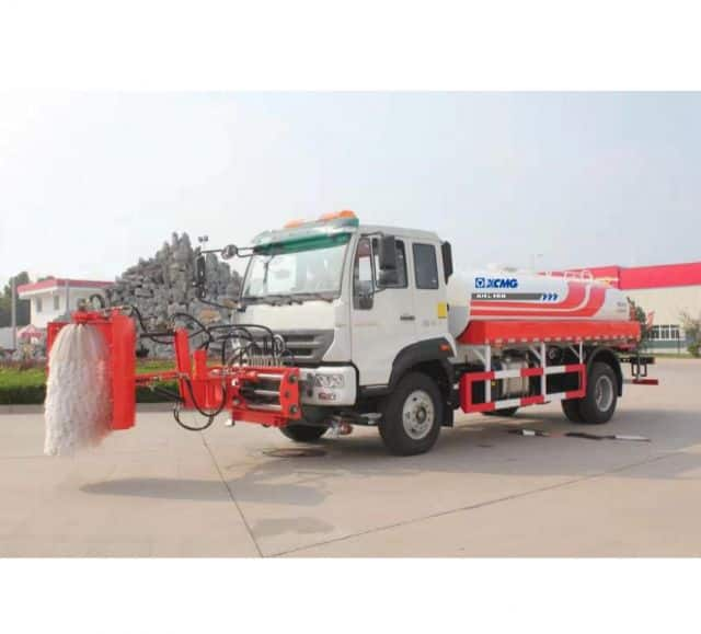 XCMG XHL160 Guardrail cleaning vehicle