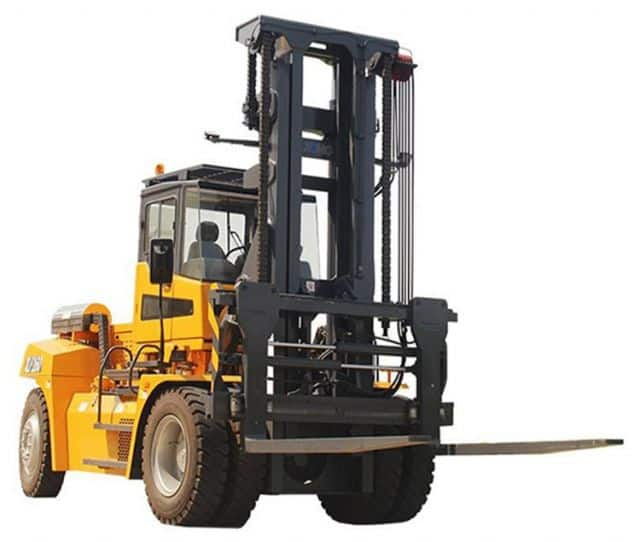 XCMG 16 Ton Internal Combustion Counterbalance Forklift Truck XLF160 With Cummins Diesel Engine