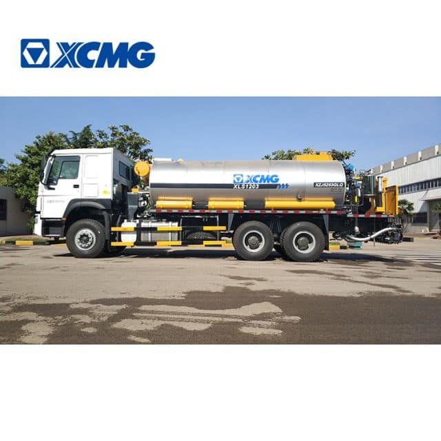 XCMG manufacturer asphalt distributor trailer truck XLS1203 China new asphalt machines for sale