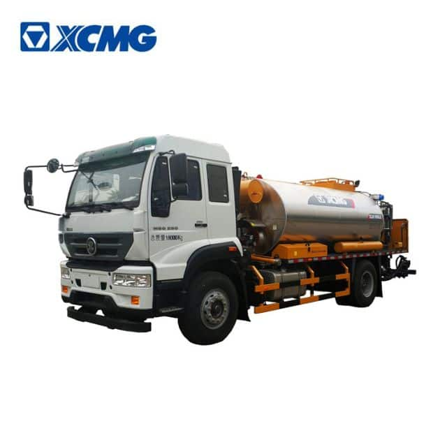 XCMG 8m3 XLS803 intelligent asphalt distributor trailer truck price