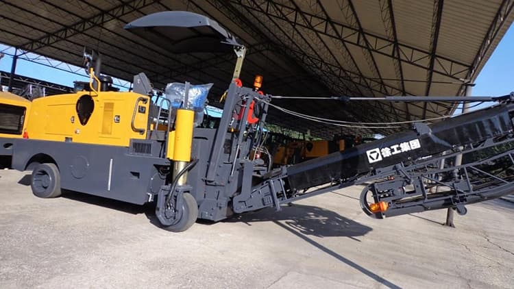 XCMG official 1m XM1003H concrete milling machine scarifying for sale