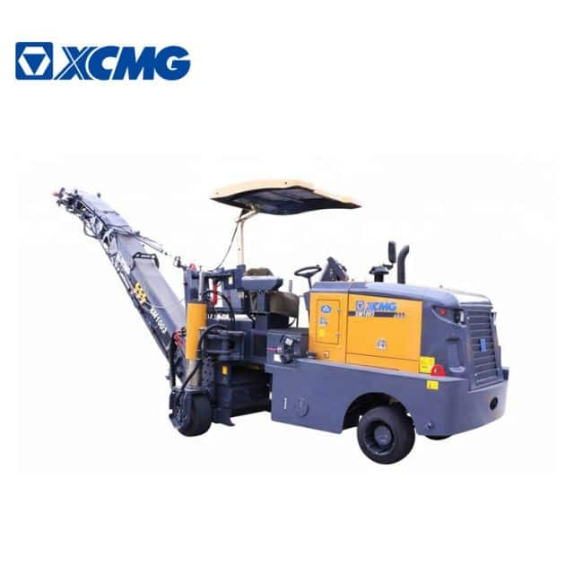 XCMG mini milling machine XM1003H China 1m asphalt cold planer machine with Cummins engine for sale