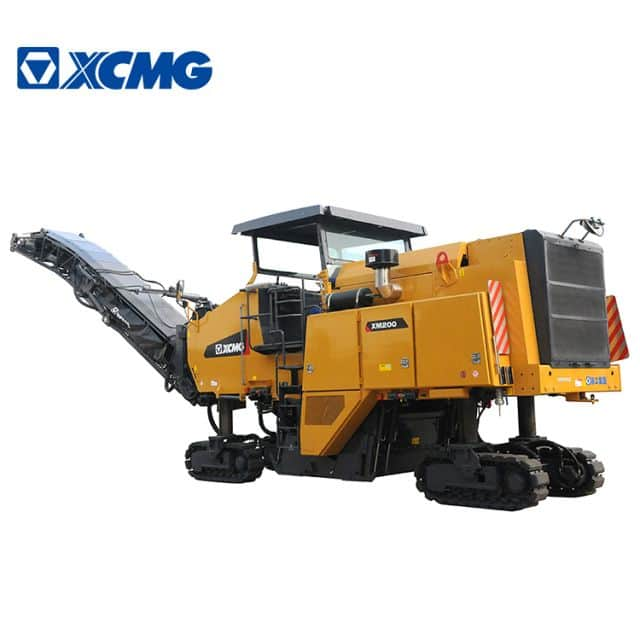 XCMG 2m road cold planer milling machine XM200 china mini asphalt milling machine price for sale