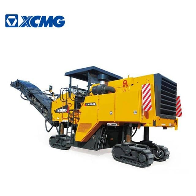 XCMG official 2m cold planer machine XM200E mini road milling machine lathe with parts for sale
