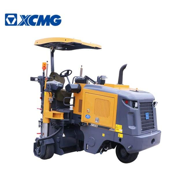 XCMG 500mm milling machine XM503 china small asphalt concrete cold milling planer machine for sale