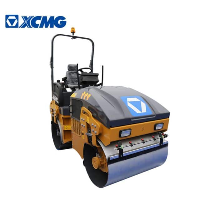 XCMG 3 ton Mini Double Vibratory road Roller XMR303 Light Compactor Equipment for sale