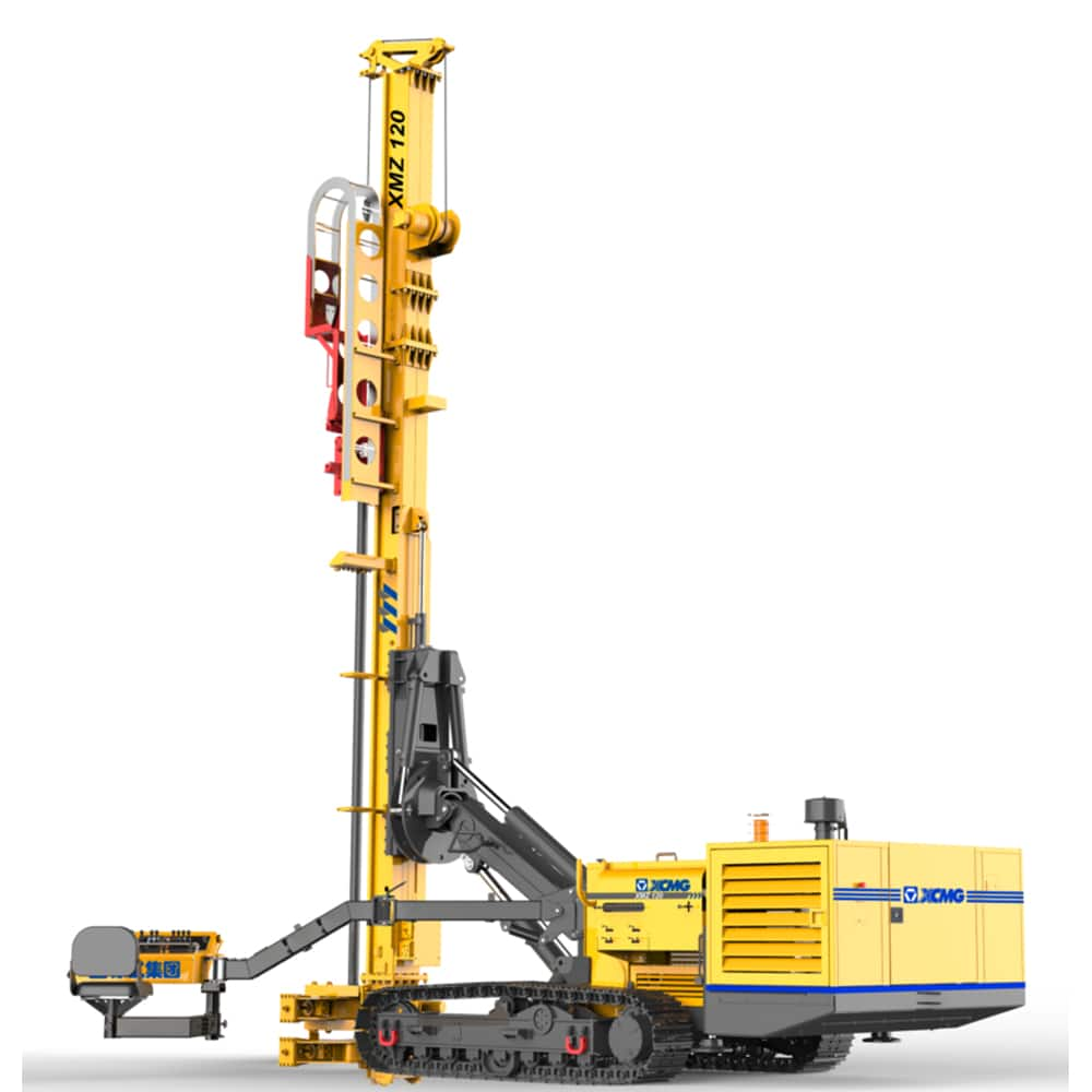 XCMG Official Manufacturer XMZ120 Anchor Drilling Rig  for sale