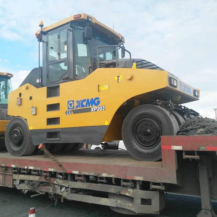 Hydraulic Roller Earth Compactor Machine XCMG 20 Ton