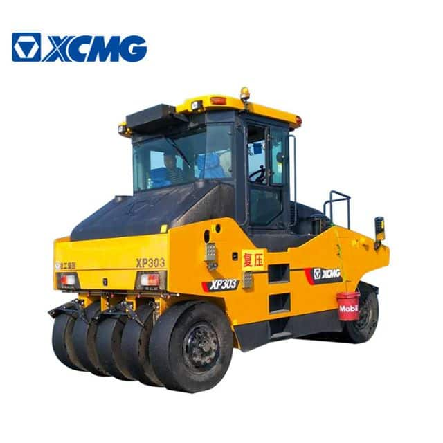 XCMG Manufacturer 30 ton Tyre Rollers XP303 Pneumatic Tyre Road Roller Compactor Machine Price