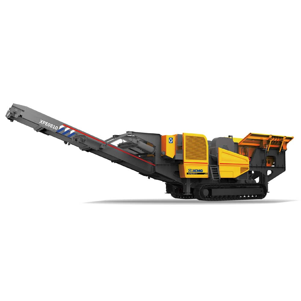 XCMG official manufacturer XPE0810 Mobile Jaw Crushers for sale