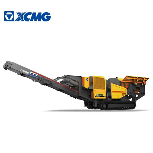 XCMG pe760*1000 Mobile Jaw Rock Crusher 389hp Stone Crusher Machine XPE0810 Prices
