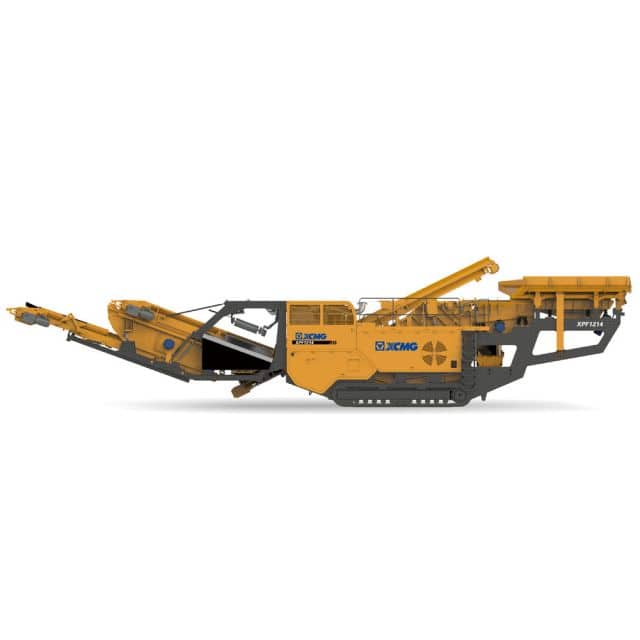 XCMG official manufacturer XPF1112 Mobile Impact Crushers for sale