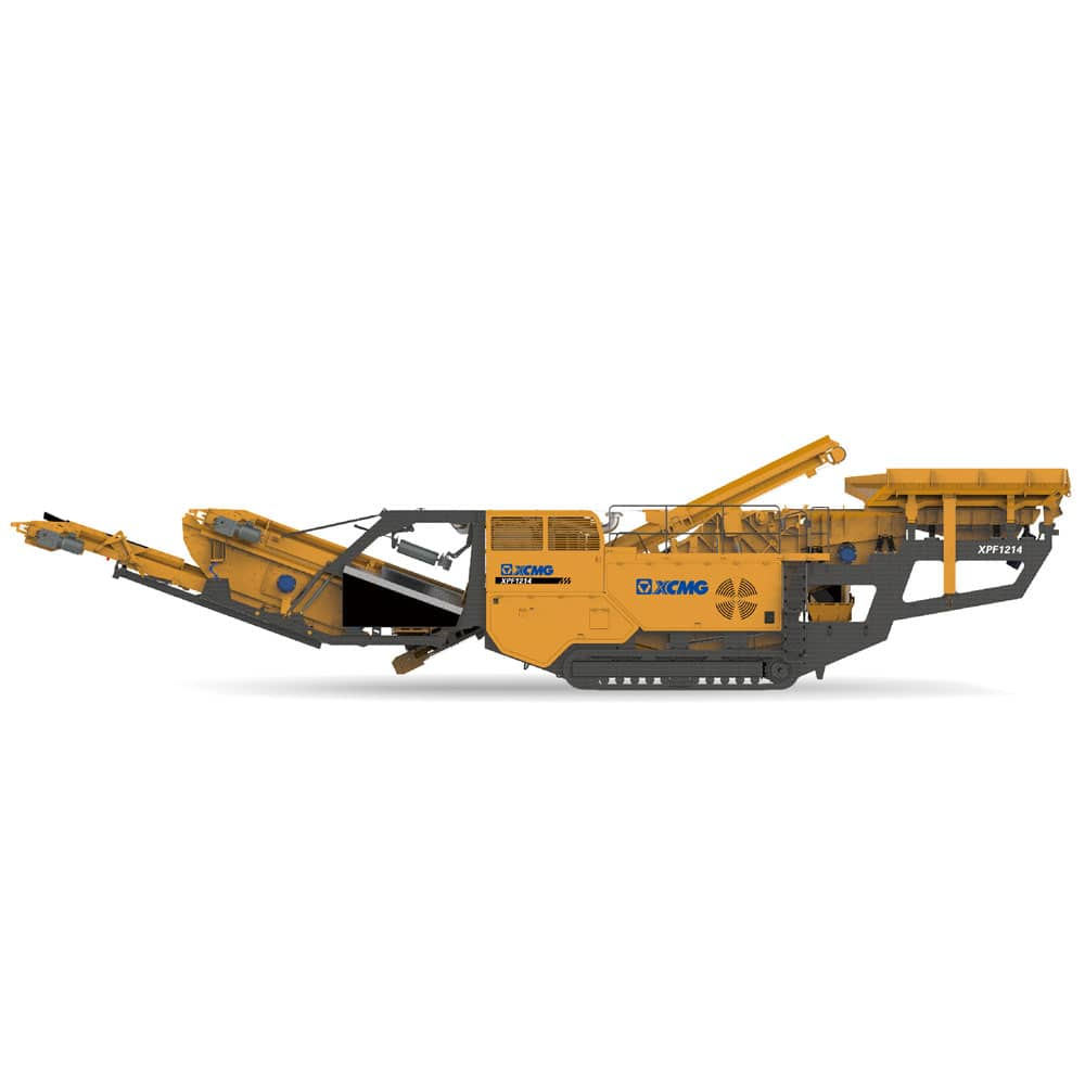 XCMG official manufacturer XPF1214 Mobile Impact Crushers for sale
