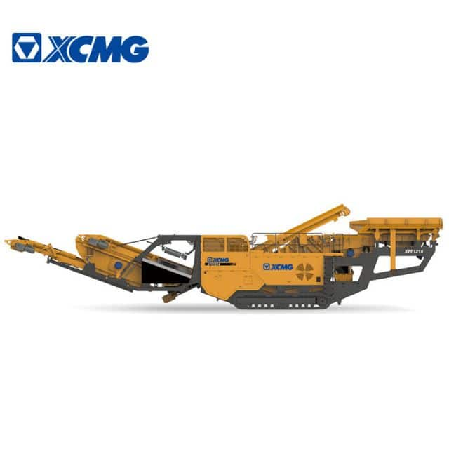XCMG Mobile Impact Crusher Stone Rock Crusher Machine XPF1214 With Cummins Engine Price