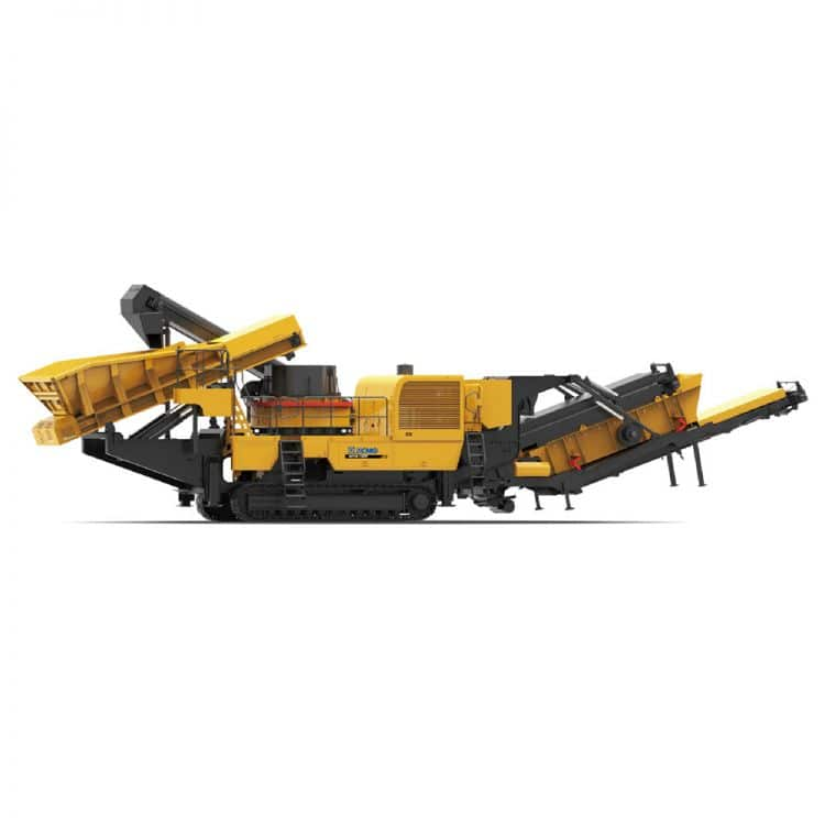 XCMG official XPL1000 Mobile Vertical Shaft Impact Crushers for sale
