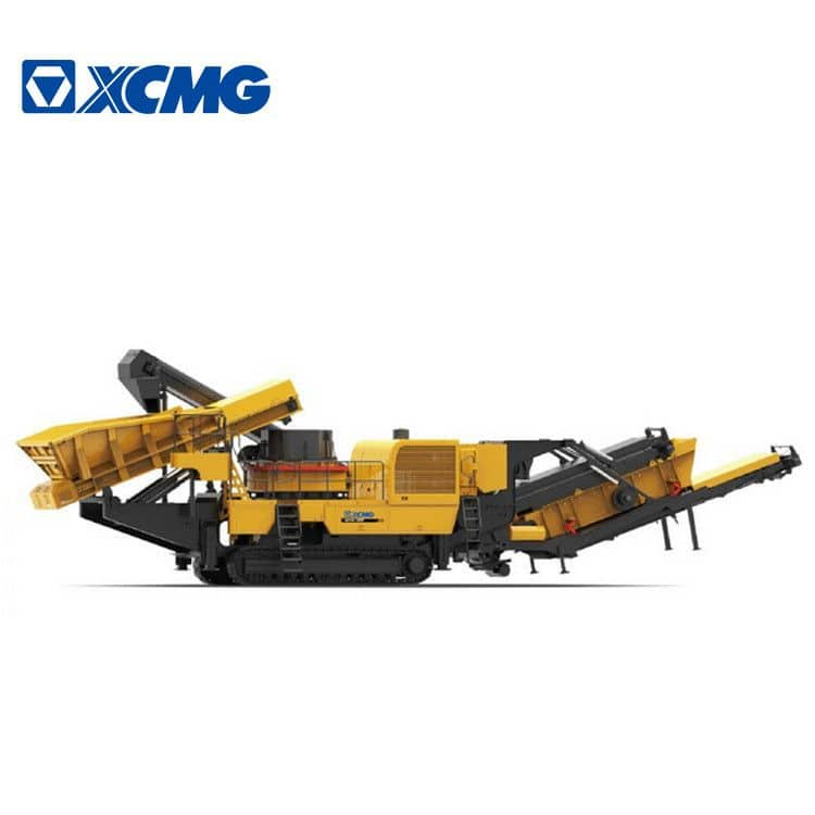 XCMG Mobile Vertical Shaft Impact Diesel Jaw Stone Machine Crusher XPL1000 With Cummins Engine Price