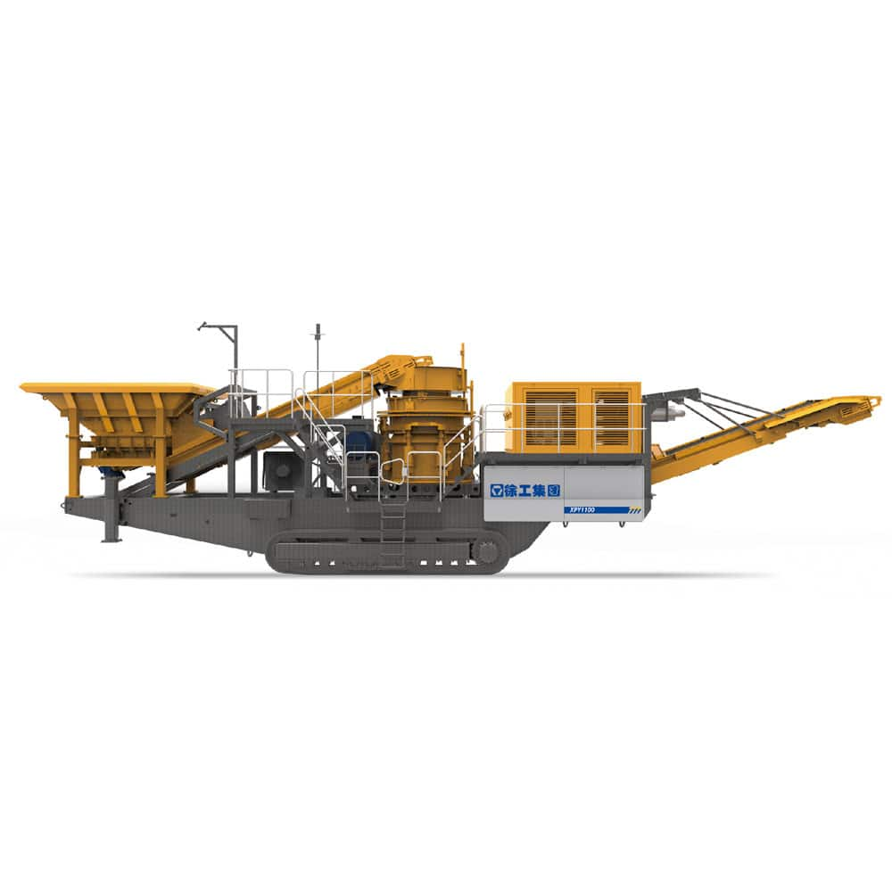 XCMG official manufacturer XPY1100 Mobile Cone Crushers for sale