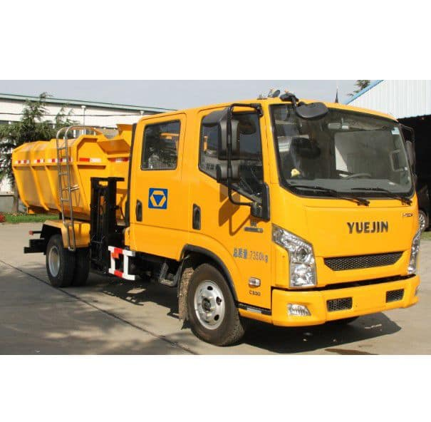 XCMG XQY705 Hydraulic lifter garbage truck