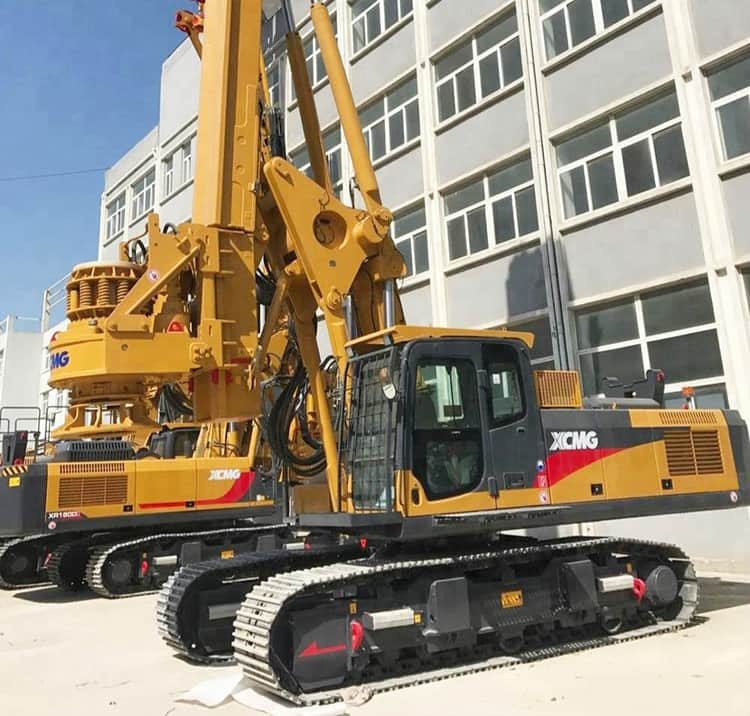 XCMG Official 56m Rotary Drill Rig XR150DIII China Drilling Rig For Sale